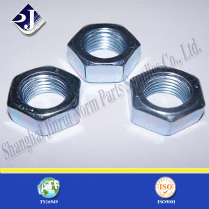 Low Carbon Steel Hex Nut (DIN934) pictures & photos