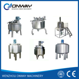 Pl Stainless Steel Jacket Emulsification Mixing Tank Oil Blending Machine Computerized Paint Mixing Machine pictures & photos