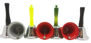 Bells with Wooden Handle in Colorful Painted pictures & photos