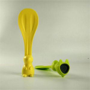 Food Plastic Rabbit Rice Spoon