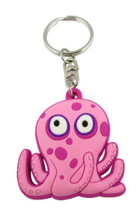 , Factory Supply Custom Cartoon Keychain, Custom 3D Cartoon Soft PVC Keychain pictures & photos