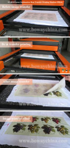 110X170cm Larger Automatic Hydraulic Sublimation Heat Transfer Color Posters Printing Machine Price pictures & photos