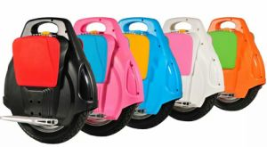 Hot Sale White One Wheel Electric Unicycle Scooters pictures & photos