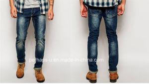 Classical Mens Indigo Slim Jeans pictures & photos