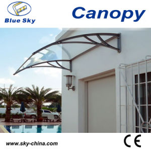 Strong Aluminum Door PC Canopy for Window (B900) pictures & photos