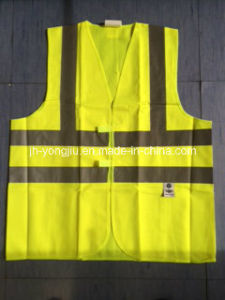 Custom Safety Vest with Four Pockets in The Front/Motorcycle Jacket/Reflective Material