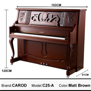 125cm Upright Piano From Factory pictures & photos
