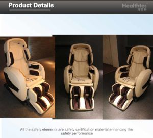China Luxury Electric Massage Chair with Shiatsu (WM001-S) pictures & photos