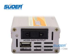 Suoer DC 12V to AC 220V 100W Car Power Inverter (SDA-100A) pictures & photos