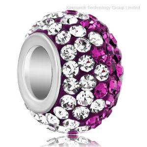 Big Hole Shamballa Rhinestone Beads for Jewelry Making pictures & photos