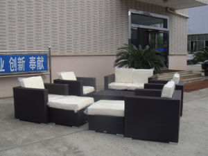 Wicker Sectional Sofa Set/Rattan Wicker Sofa/PE Rattan Sofa pictures & photos