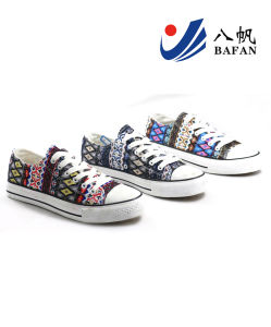 Men Fashion Casual Canvas Flat Running Travlling Shoes (bfm0383) pictures & photos