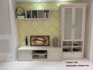 White PVC Melamine Walk in Wardrobe (ZH0007) pictures & photos