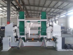 Toilet Tissue Paper Jumbo Roll Slitting and Rewinding Machine pictures & photos