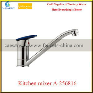 New Arrival Long Spout Single Lever Water Kitchen Sink Faucet pictures & photos
