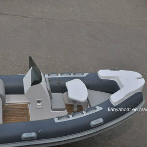 Liya 17FT Speed Patrol Boat with Motor Rib Boat Sale pictures & photos