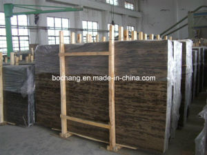 Black & Gold Portoro Marble Slabs for Flooring and Countertop pictures & photos