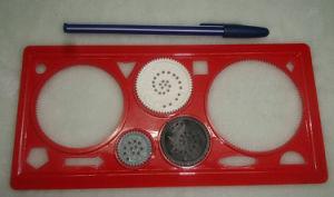 Drawing Ruler Set Magic Ruler Design Ruler Student Ruler Stationery Set pictures & photos