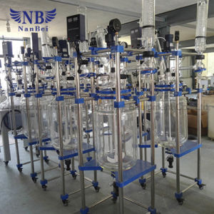 Lab Chemical Used Jacketed Glass Reactor for Sale pictures & photos