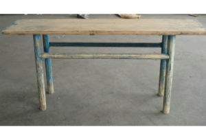 Antique Old Wooden Dining Table Lwd252 pictures & photos