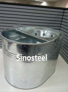 Hot Sale House Cleaning Tool Metal Mop Bucket pictures & photos
