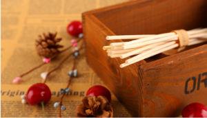 Rattan Sticks Set with Dry Flower Sachet pictures & photos