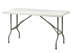 Wholesale 5FT Plastic Rectangle Folding Table for Outdoor Event pictures & photos