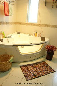 China Style Cobblestones Paver Mats for Bathroom pictures & photos