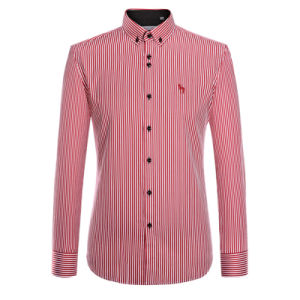 2017 Spring Dress Shirt for Men Cotton Brand Casual Shirt pictures & photos