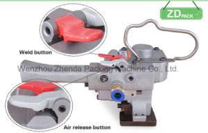 Buckle Free Pneumatic PP Pet Welding Strapping Machine (XQH-19) pictures & photos