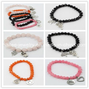 Fashion Stainless Steel Natural Stone Bracelet for Gift pictures & photos