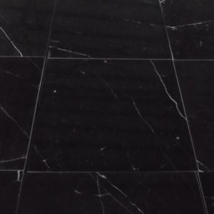 Nero Marquina Marble, Black Marble Tiles for Flooring pictures & photos