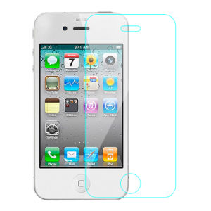 0.33mm Clear Mobile Phone Screen Protector for iPhone 4