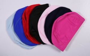 High Quality Lycra Swimming Hat with Customized Printing pictures & photos