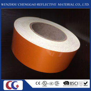 High Quality Orange Reflective Material Film for Road Sign pictures & photos