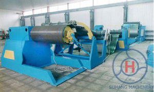 10t Hydraulic Decoiler Cut to Length Line Slitting Machine pictures & photos