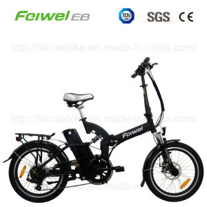 TUV Approved E-Bike Electric Folding Bike with Pedal pictures & photos
