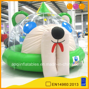 Inflatable Bear Moonwalk Bouncer for Kid (AQ405-2) pictures & photos