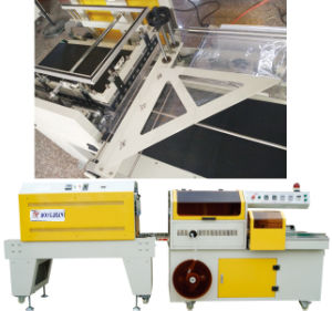 Automatic Three Sides Film Sealing Machine with L Cutter for PVC POF PP Heat Shrinking Tunnel Auto Packing Machinery pictures & photos