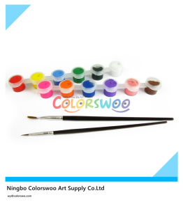 6*3ml Non Toxic Acrylic Paint for Students and Kids pictures & photos