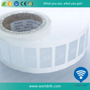 UHF 915MHz Blank Label RFID Sticker in Roll pictures & photos