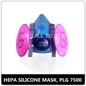 Double HEPA Filter Half Face Mask (7500D) pictures & photos