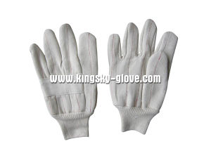 Canvas Cotton Heat Resistance Cotton Work Glove (2112) pictures & photos