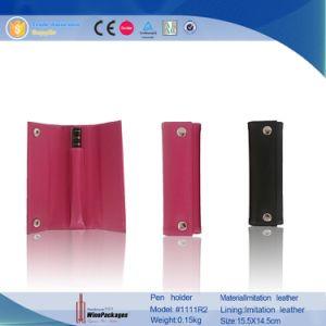Luxury Leather Pen Holder, Wholesale Decorative Pen Bag (1111R2) pictures & photos
