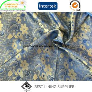 New T/R Men′s Suit Jacket Jacquard Lining Fabric Manufacturer pictures & photos