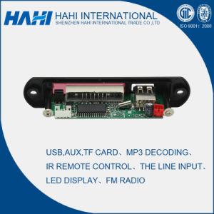 USB 12V/5V Decoder Board TF Card MP3 Player Audio Decoder Board (MV9A) pictures & photos