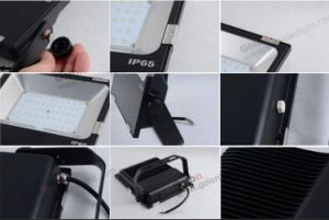 High Quality Super Lumens 110lm/W 5 Years Warranty 200W LED Flood Light Frosted Glass pictures & photos