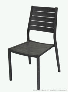 Powder Coated Outdoor Metal Dining Chair with Armrest for Hotel Restaurant Beach Use pictures & photos