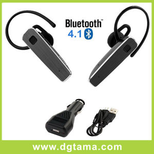 Bluetooth Headset Earphone with Car Charger and USB Charger Cable pictures & photos