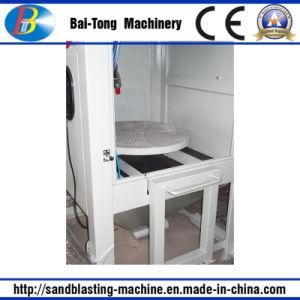 Manual Pressure Type Sandblasting Machine Sandblasting Cabinet pictures & photos